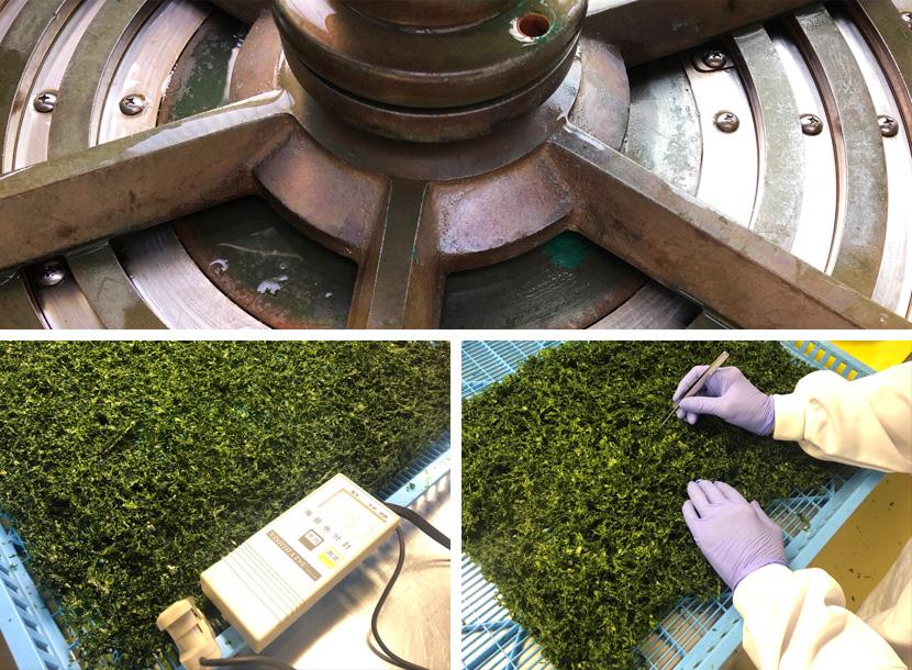 青バラ干しの製品化を支える配備