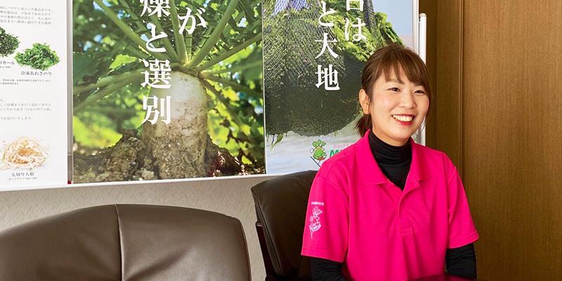 宮川産業株式会社 総務部長 宮川 友穂