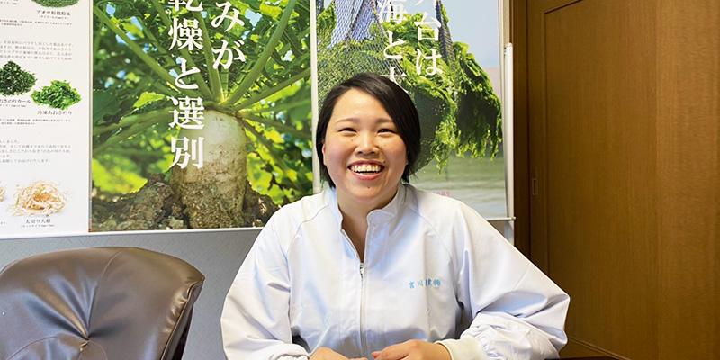 宮川産業株式会社 2020年度新入社員 髙橋 奈津子